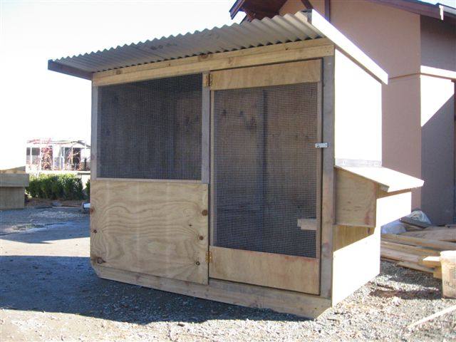 Large chicken house from chooks.co.nz.